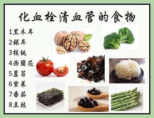 化血栓清血管的食物 3