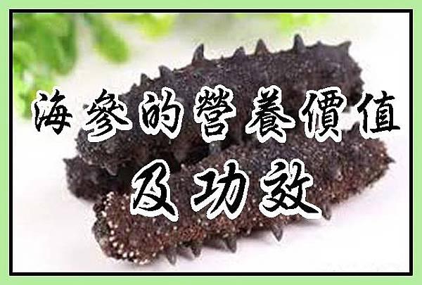 海參的營養價值及功效 (3)