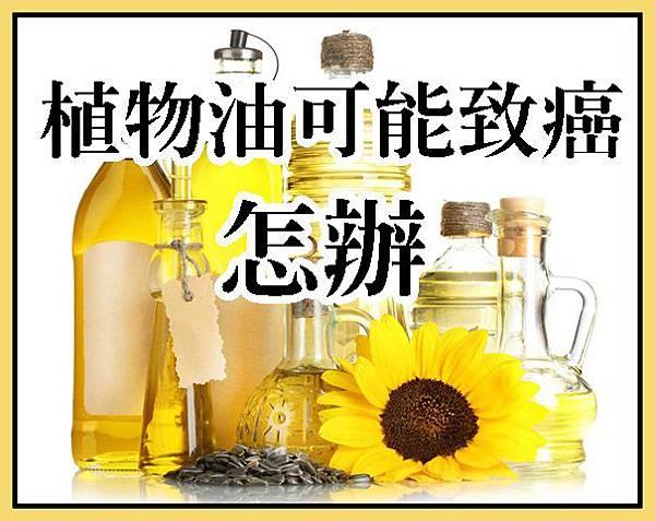 植物油可能致癌,怎辦?