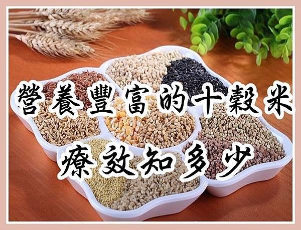 營養豐富的十穀米療效知多少