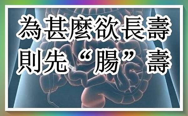 """為甚麼欲長壽,則先""""腸""""壽!.jpg"""