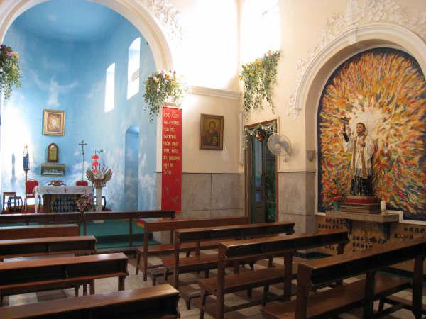聖方濟教堂內