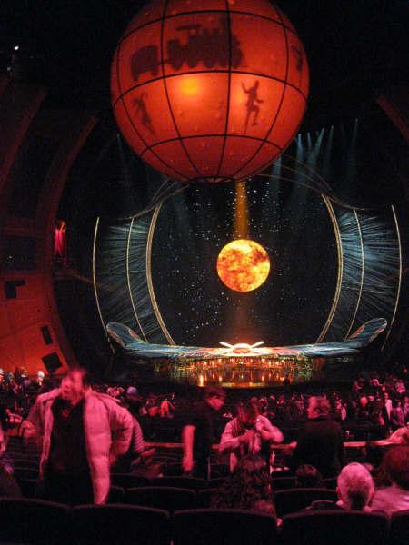 太陽劇場舞台