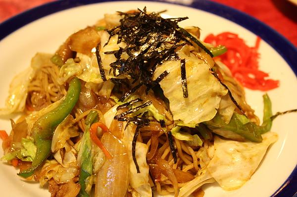 炒拉麵$150 (附湯, 很好吃).jpg