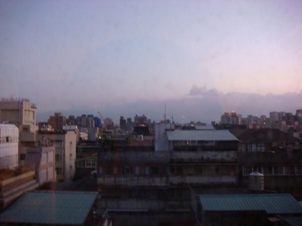 台北的清晨