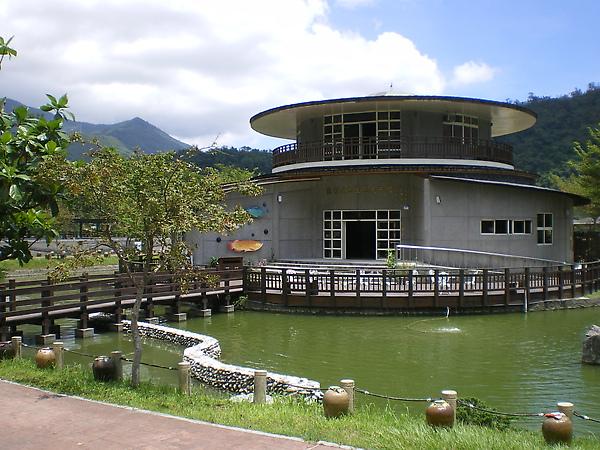 畫面來到漁業文物生態館