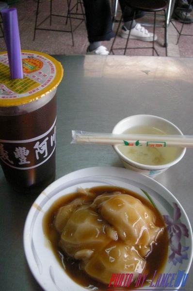 中餐~冬瓜茶+武廟肉圓