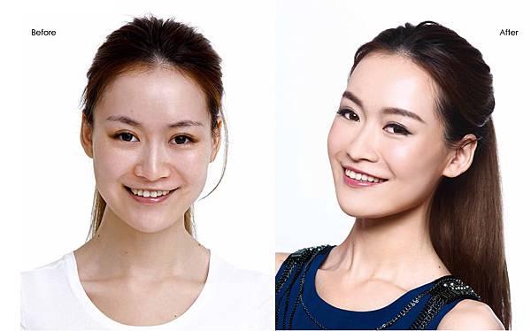 Nini的Before and after