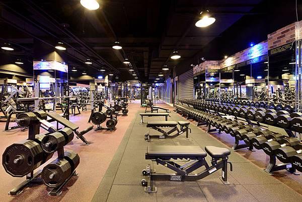 專業重量訓練區