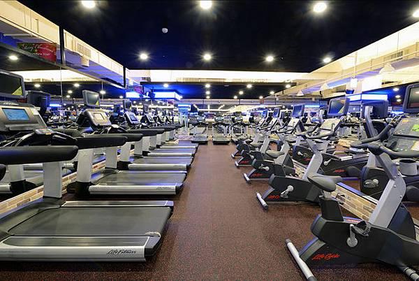 健身房複合式心肺訓練區