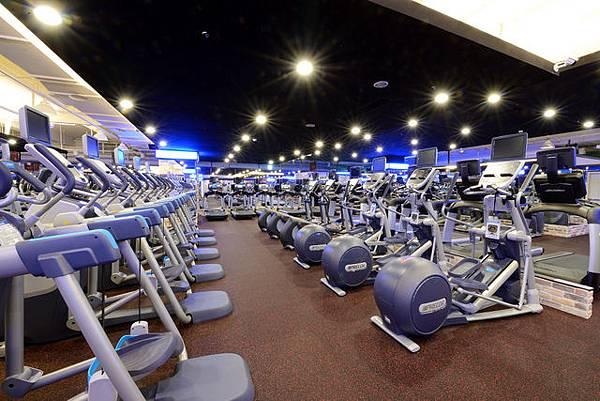 豐原健身複合式心肺訓練區