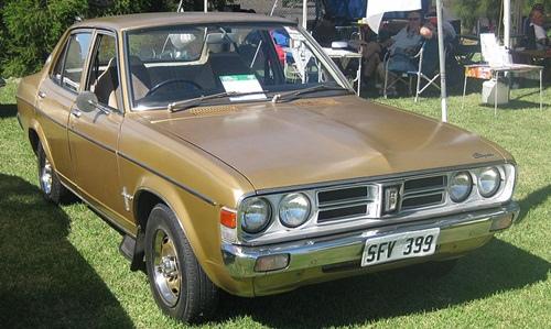 1976-1977克萊斯勒Galant sedan(澳洲)
