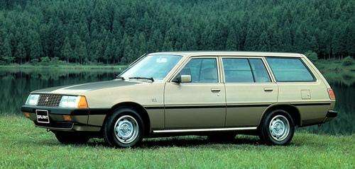 Galant wagon第四代