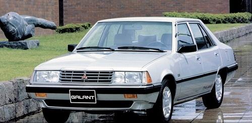 第四代Galant sedan