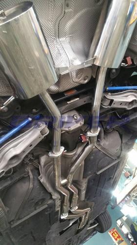 BMW 335i-排氣管全段改裝-(2)