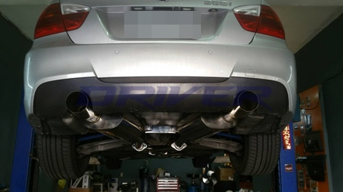 BMW 335i-排氣管全段改裝-(6)