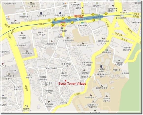 Seoul Tower Village地圖.jpg