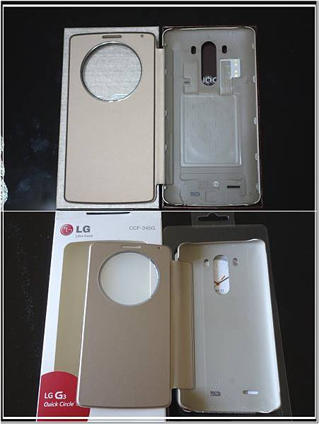 LG G3 背蓋差異
