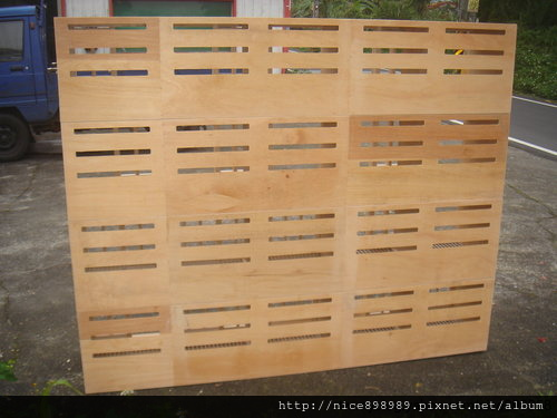 賽鴿巢箱背後開通風口範例