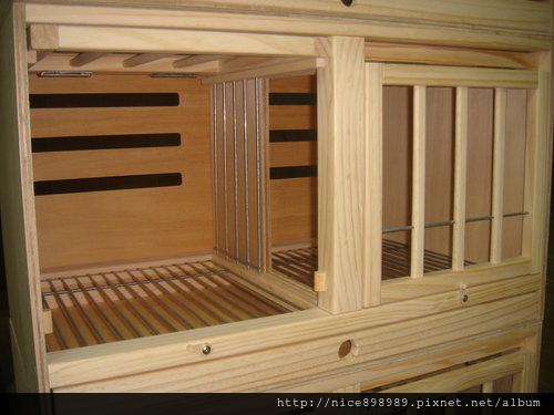 賽鴿調節巢箱小規格上掀收納門標準型