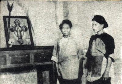 臺灣屏東萬丹部落平埔族家庭信仰天主教貢奉聖母像_Taiwanese_Plains_Aborigines_Worship_Roman_Catholicism