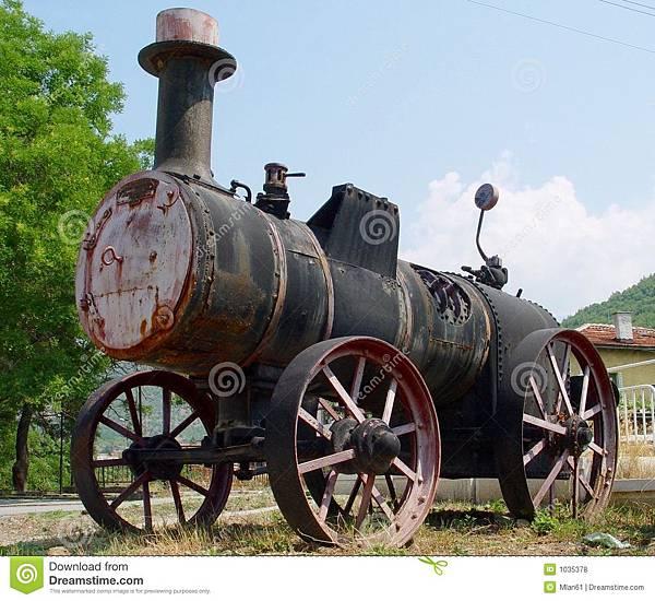 蒸汽拖拉机-1035378