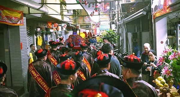 攝於2016年底臺南市四安境下大道良皇宮三朝謝恩祈安建醮。【圖片來源:Woodsouth-Su臉書照片】