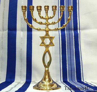 BRASS-Messianic-Temple-MENORAH-7-Branch-Grafted-Jerusalem