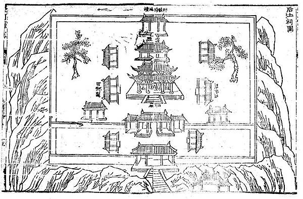 800px-Wanrong_Houtu_Temple_in_1881