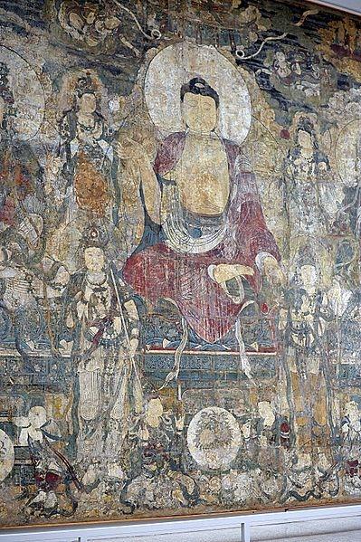 399px-_Paradise_of_Bhaisajyaguru__Buddha_wall_mural_in_the_Met_museum