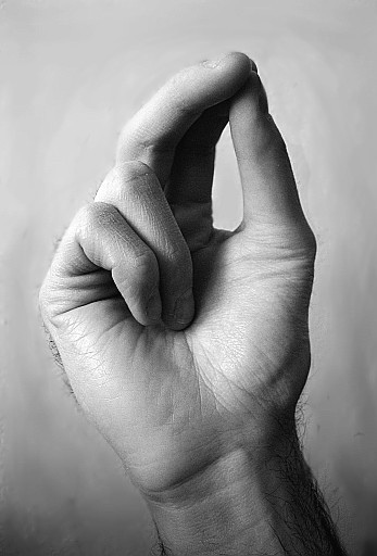Sign-of-the-cross--fingers-position