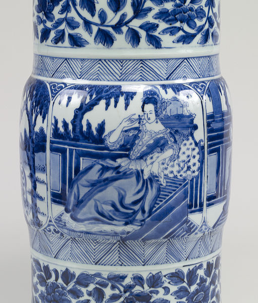 511px-Chinese_-_Pair_of_Vases_with_European_Women_-_Walters_491913,_491914_-_Detail_C