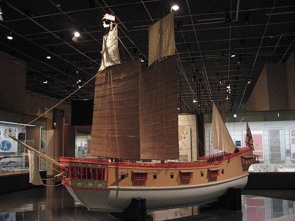 The_restoration_model_red_seal_ships