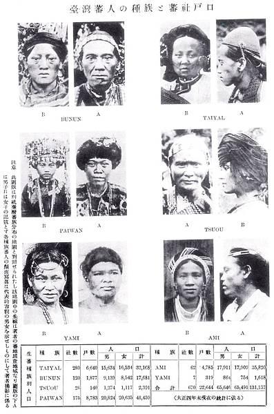 06 圖六 森丑之助的「臺灣蕃人的種族」類型