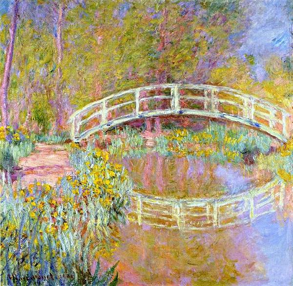 Claude-Monet-The-Bridge-in-Monet