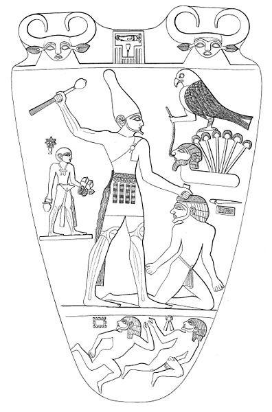 396px-Narmer_Palette,_recto