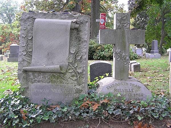 800px-Herman_Melville_Headstone_1024