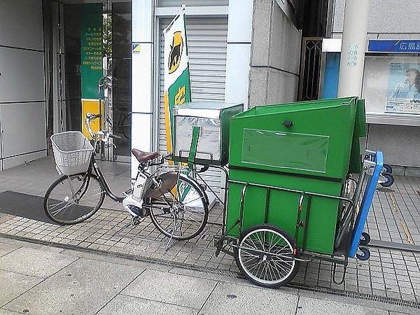 Yamato_Transport_electric_bicycl