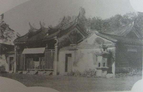 1933年前的永康二王廟