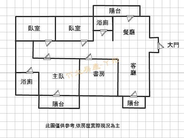 竹北【高鐵特區】椰林-水岸4房雙車視野戶