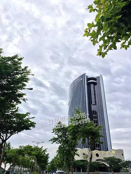竹北暐順經貿大樓-工程進度