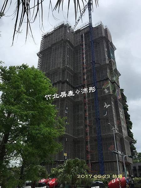 竹北【高鐵特區】半畝塘-若山3【若蒔山】 工程進度~