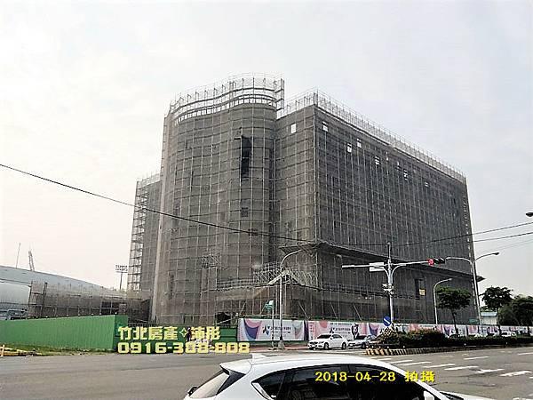 竹北國民運動中心...工程進度(更新)