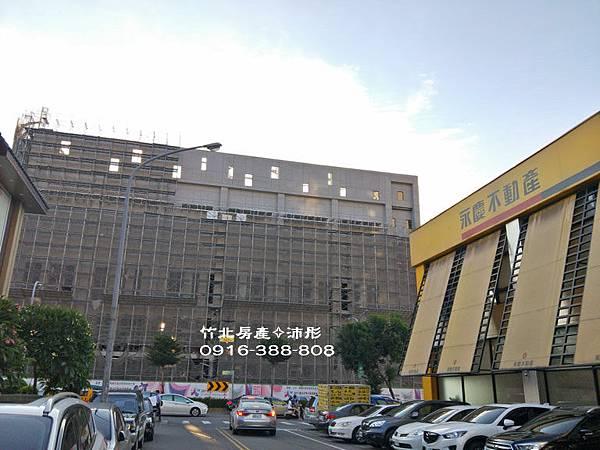 竹北國民運動中心 即將完工----竹北房產-沛彤