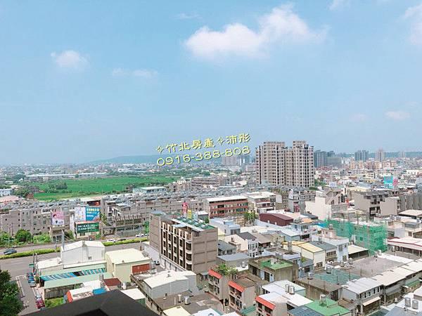 ➤好宅大降價~竹北【台科大特區】時尚鉑晶高樓視野美3房+平車