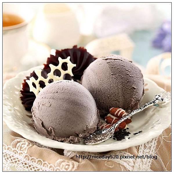 Congele公爵法式手工冰淇淋|黑芝麻