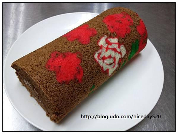 聖誕毛巾捲蛋糕DIY