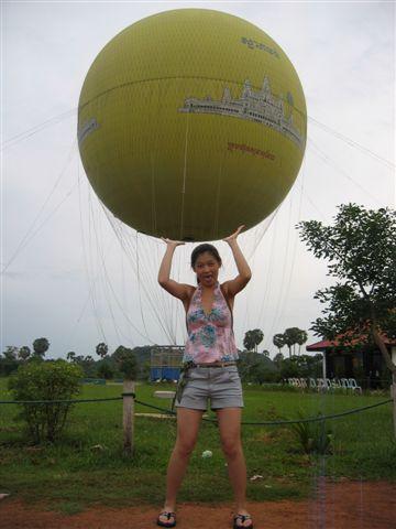 拍照比升空好玩的氣球