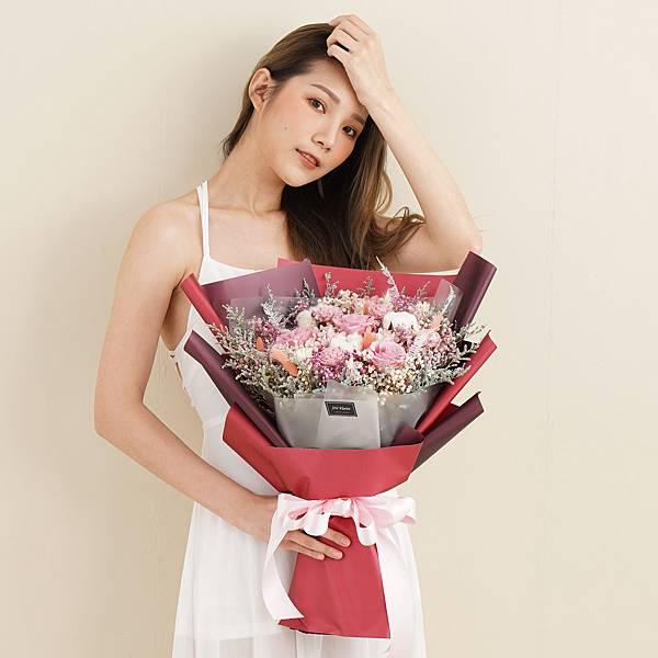 網美推薦永生花束,求婚花束,告白花束,情人節花束
