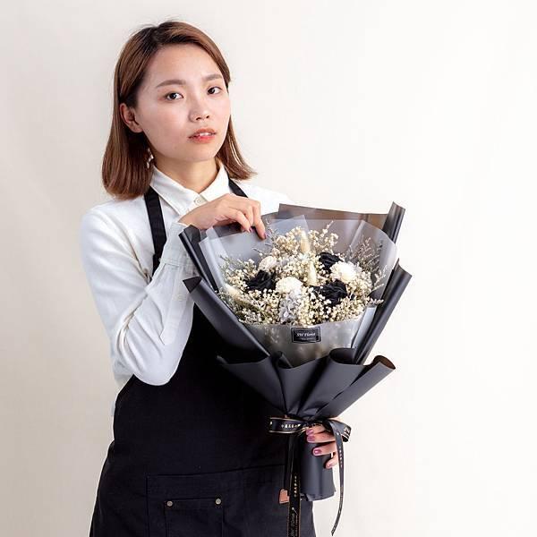 網美推薦永生花束,情人節花束,韓式花束,告白花束,求婚花束
